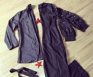 blazer, fashion, and jumpsuit image
