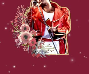 aesthetic, flowers, and Freddie Mercury image