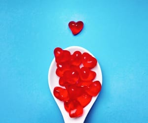 candy, hearts, and minimal image