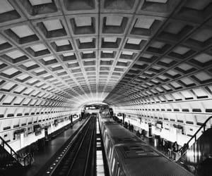black, metro, and underground image