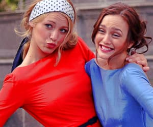 blair waldorf, blake lively, and leighton meester image