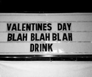 drink, valentines day, and valentine image