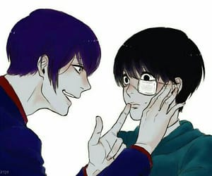 x, yaoi, and tokyo ghoul image