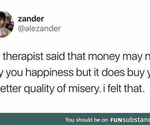 therapist and funny tweet image