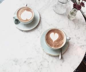 cappuccino, καφε, and coffee image