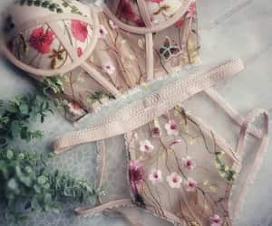 lingerie and rose image