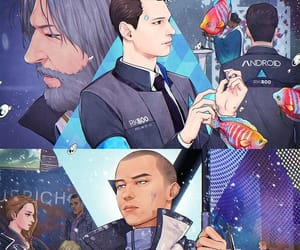 Connor, jericho, and detroit become human image