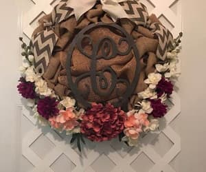 etsy, farmhouse decor, and front door wreath image
