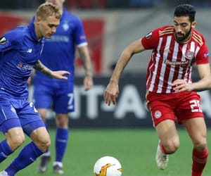 football, europa league, and karaiskaki image
