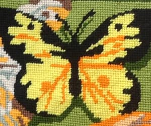 butterflies, etsy, and green image