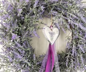etsy, housewarming gift, and lavender wreath image