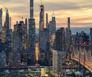 aesthetic, new york city, and scenery image