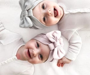 baby, adorable, and twins image