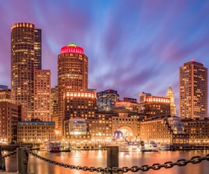 architecture, boston, and cities image