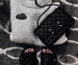 chanel, fashion, and handbag image