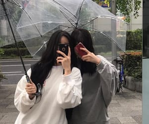 aesthetic, ulzzang, and friends image