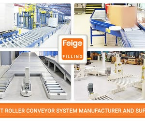 conveyor systems, drum filling, and filling equipment image