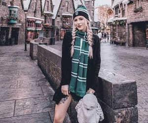 beanie, hedwig, and slytherin image