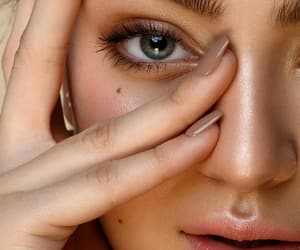 beuty, eyes, and face image