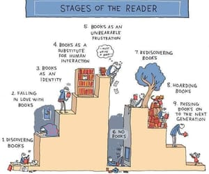 bookish, reader, and books image
