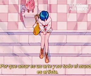anime, books, and frases image