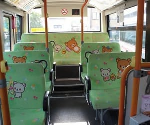 bus, japanese, and kawaii image