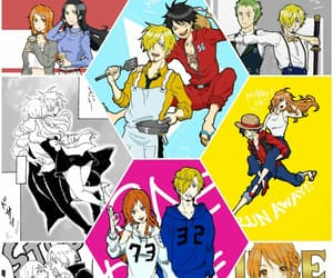 one piece, sanji, and sanlu image