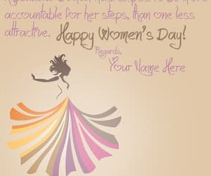 happy women's day, women's day greetings, and women's day wishes image