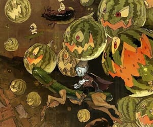 arte, verduras, and bruja image