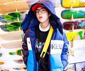 exo, kim minseok, and exo-cbx image