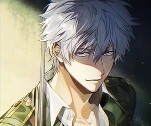 anime, sakata gintoki, and gintama image