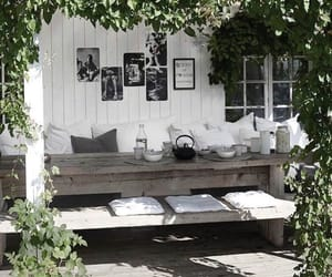 cozy, garden, and fashion image
