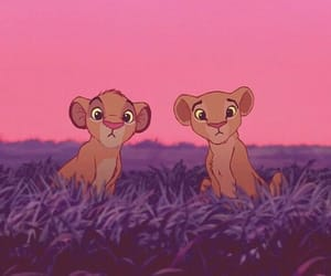 disney and lion image
