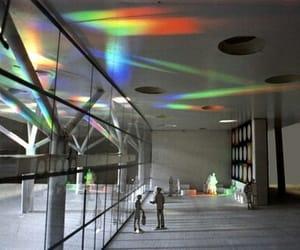 art, art installation, and rainbow image