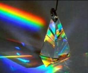 aesthetic, blurry, and prism image