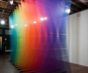 prism, prisma, and rainbow image