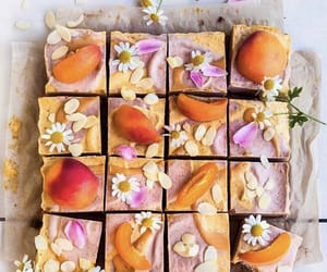 almond, cake, and bakery image