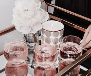 rose gold, aesthetic, and pink image