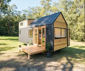 architecture, house, and tiny home image