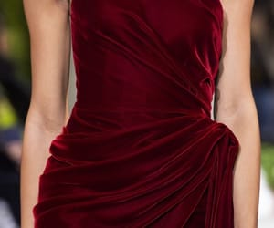 fashion, red, and velvet image