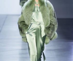 fashion, fur, and silk image