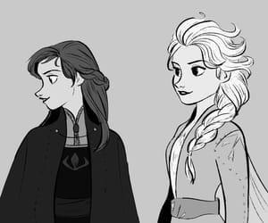 anna, disney, and movie image