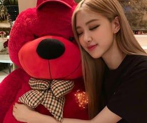girl, korean, and rose image