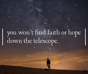 astronomy, belief, and broken image