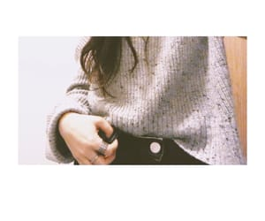 fashion, fashion girl, and grey image