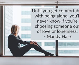 life, loneliness, and love quote image