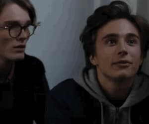 gif, lucas, and skam image