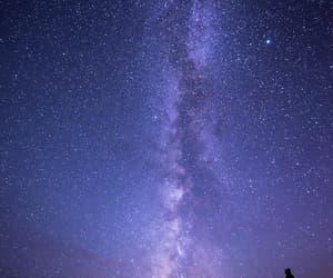earth, stars, and sky image