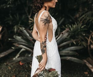 casamento, dress, and marriage image