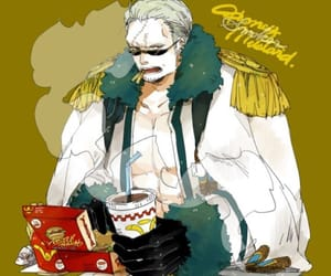 Marines, smoker, and one piece image